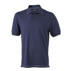 Mens Elastic Polo
